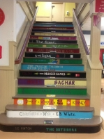 Stairway painted by Volunteers!