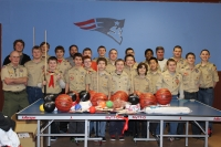 Thank you Boy Scouts Troop 18!